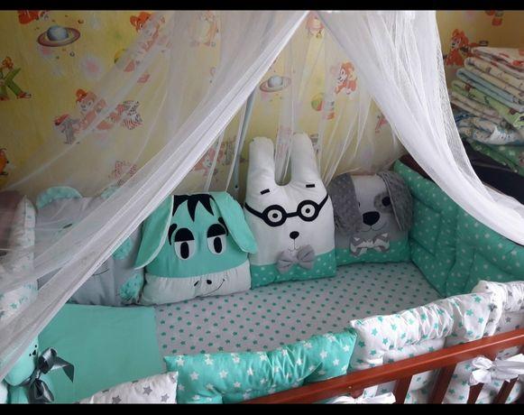 Продам детскую кровать+ бортики