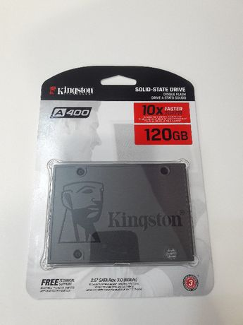 SSD, Kingston, 120 GB Установка