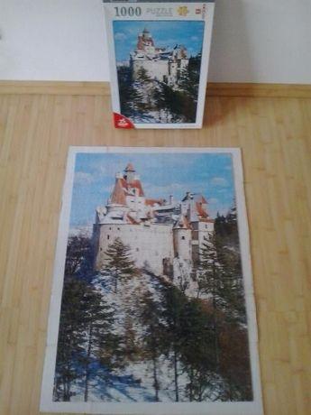 Puzzle 1000 piese Castelul Bran