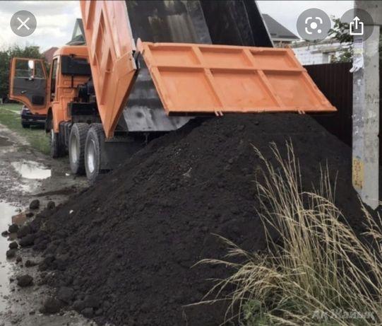 Чернозем хороший плодородны мельки с доставкой Камаз 15 тонник.