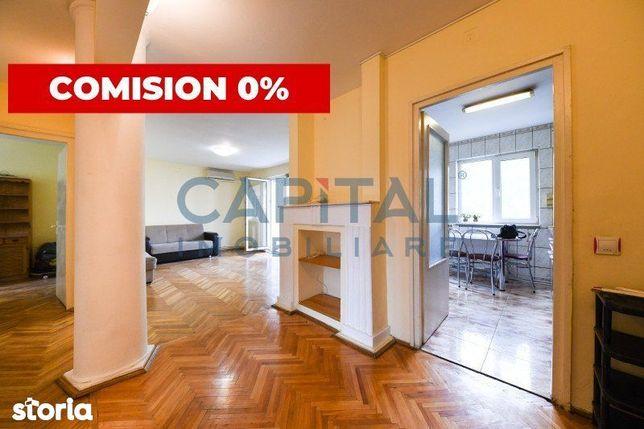 0% Comision! Vanzare apartament 4 camere decomandate, Grigorescu