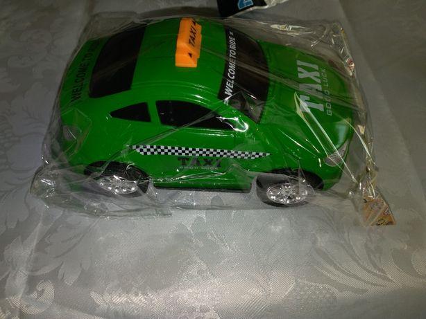 Masinuta verde taxi pt copii