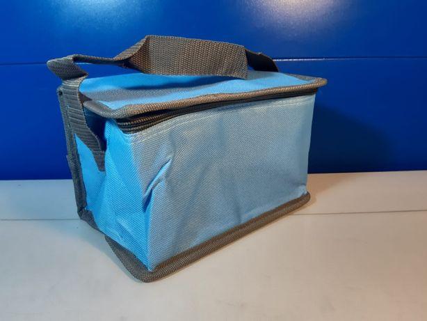 Geanta termoizolanta voiaj bleu, gri , 20 x 13 x 14 cm
