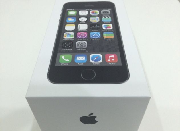 Iphone 5S 16gb space gray NOU