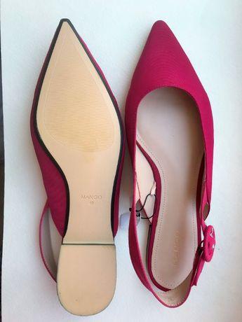 Туфли с открытой пяткой Mango