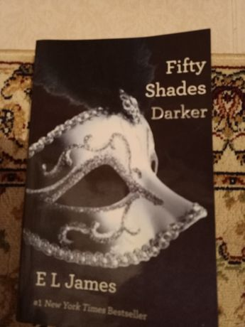 Книга 50 оттенков на английском языке