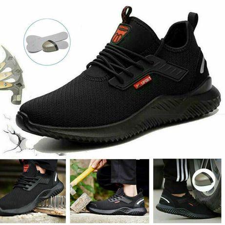Летни,Дишащи,Леки Работни Обувки с Метално Предпазно Бомбе FL910