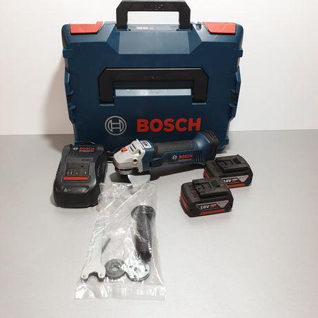 Bosch GWS 18-125 V-Li Polizor unghiular 5.0AH Germany 2020 NOU