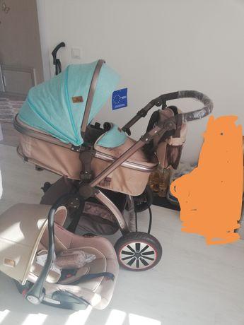 Детска количка лорели +кошница