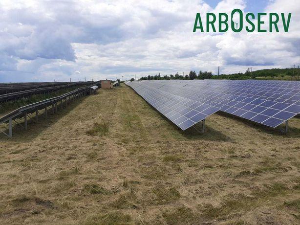 Cosire - curatare parcuri fotovoltaice / solare