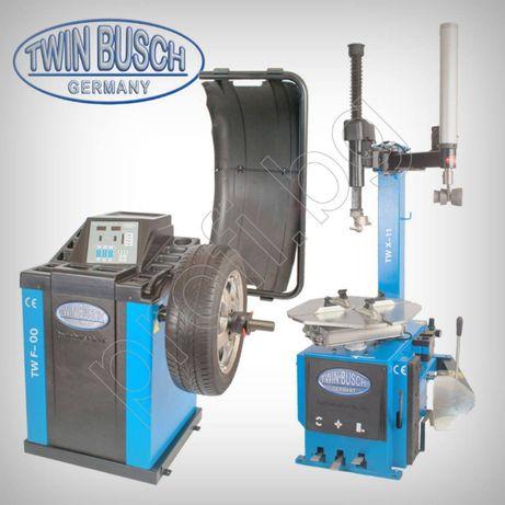 Баланс и Монтаж демонтаж машина за гуми Twin busch Germany