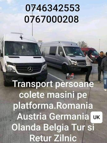 Transport Romania Austria Olanda Belgia Anglia