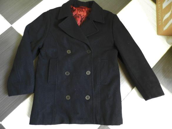 палто h&m, 134 см, обличано един път