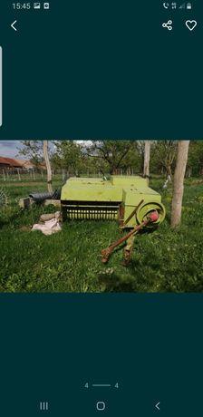 Tractor si presa,cositoare si grebla