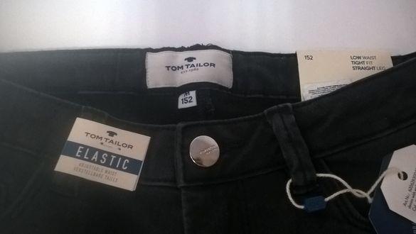 Нови дънки Tom Tailor, еластични с капси