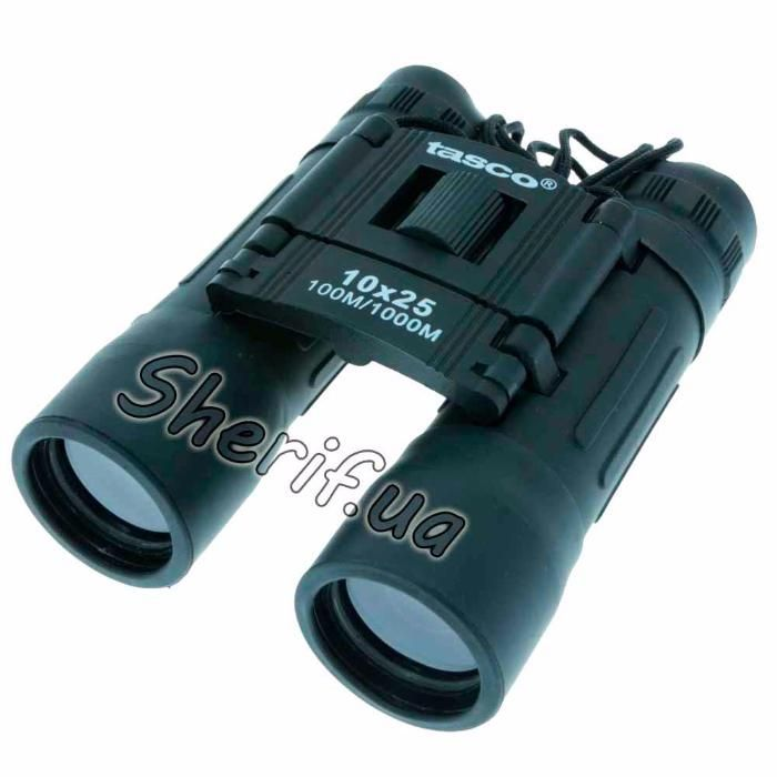 Бинокль Tasco 10x25 мм Уральск - изображение 1