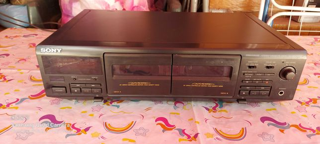 Sony Stereo Cassette Deck TC WE 405
