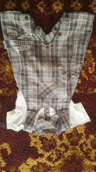 Бебешко костюмче/дънков гащеризон