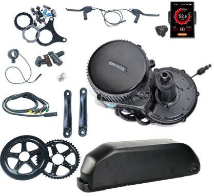 Электромотор Bafang для велосипеда (полный комплект)