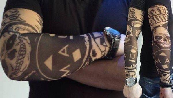 Maneci tatuate,Ray Sleeves calitate premium