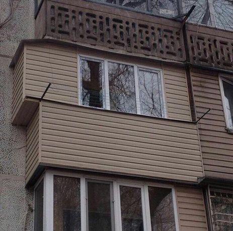 Отделка балконов и Пластиковые окна