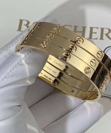 Позлатени гривни Cartier  - 750 / 18K