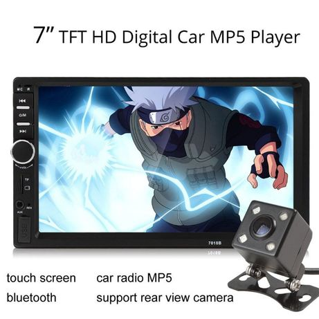 MP5 Player Auto - Bluetooth, USB, CardSD, Mirrorlink, Model 7018B