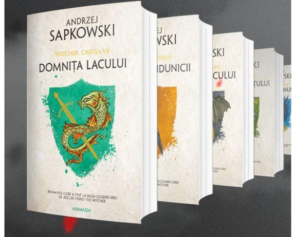 Vand seria Witcher, 7 volume, de Andrzej Sapkowski