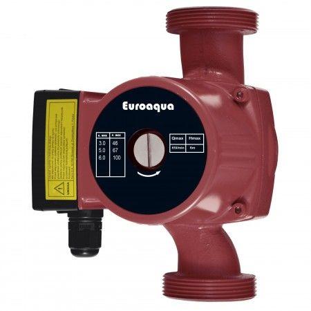 Pompa recirculare, debit maxim: 65 l/min, Putere: 46/67/100 W