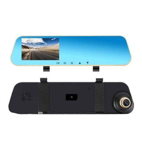 Oglinda Retrovizoare Auto Camera DVR cu Inregistrare si Ecran LCD