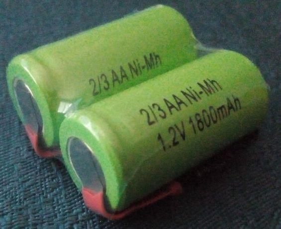 Акумулаторни батерии 2/3AA 1800mAh
