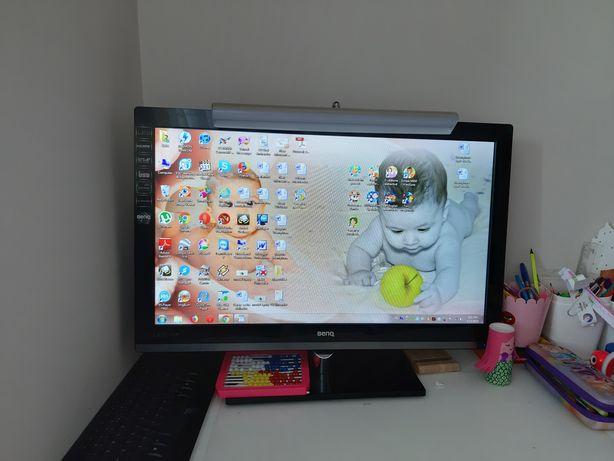 Monitor TV Benq 27' LED Full HD tunner DVBC diagonala 70cm