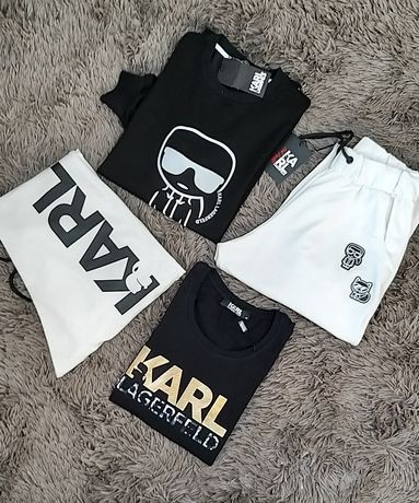 Pantalon sport, malete si tricouri Karl Lagerfeld