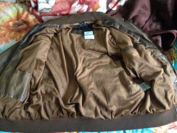 Продам,новую кожанную куртку
