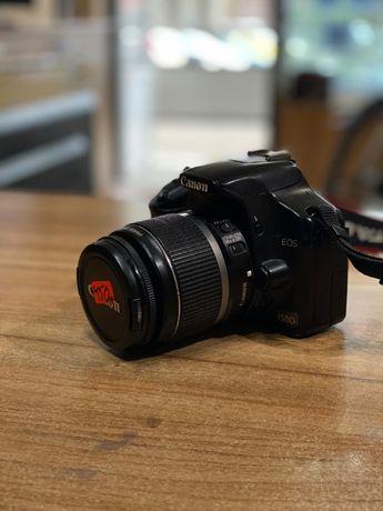Canon 450D с два обектива
