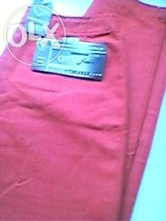 Pantaloni Rosii de Dama Marca ONYX JEANS Marimea 28 Reducere!!!