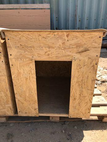 Новая будка для крупных собак