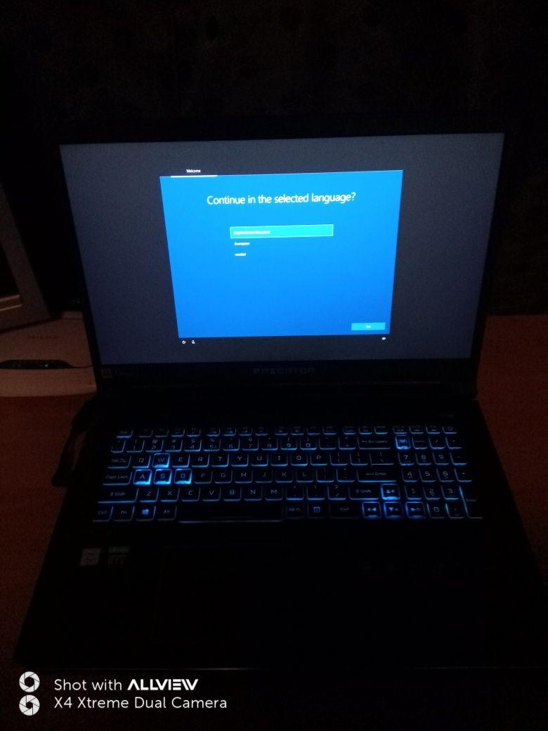 Laptop Acer Predator Gaming