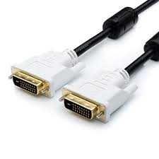 Оригинальный DVI-D шнур кабель для мониторов, цифровое качество