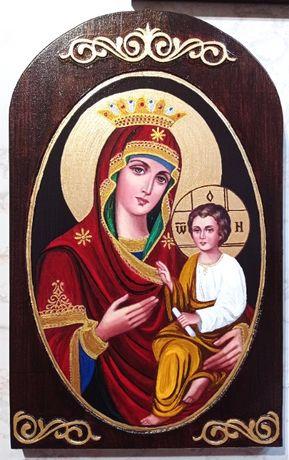 Икона на Св. Богородица Скоропослушница (голяма) - рисувана