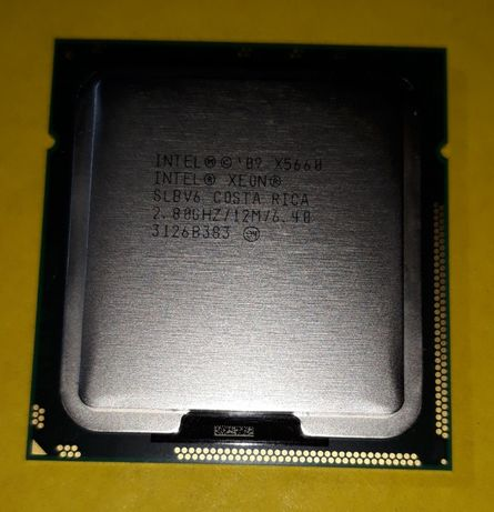 Intel Xeon X5660, Skt 1366, < i7 980X > Six Core