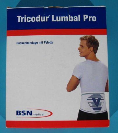Orteza lombara de stabilizare cu tampon Tricodur - Marime XS