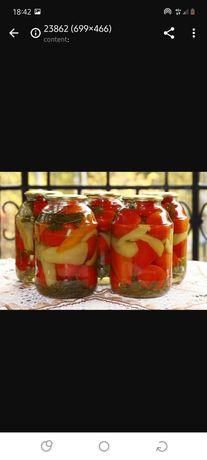Соленья огурцы помидоры