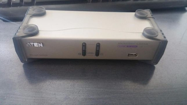 Switch KVM Aten CS1742 dual-view, pentru doua monitoare simultan