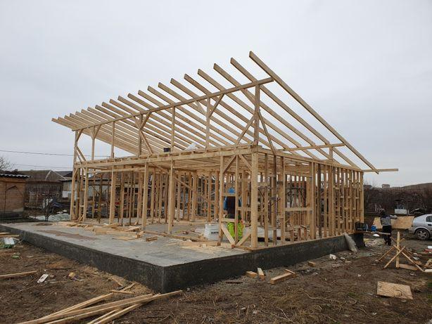 Case structura de lemn,acoperisuri,mansardari,independințe,extinderi.