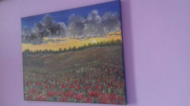Tablou/pictura..ulei pe panza 40x50