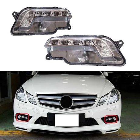 756 LED Дневни светлини халогени Mercedes w212 E в212 e class крушка