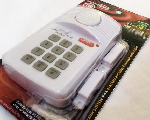 Домашна аларма за врата с клавиатура
