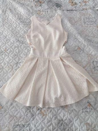 Бяла официална рокличка Юнона