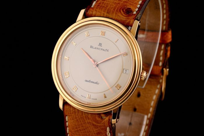 Blancpain - Excellent Super Slim Automatic 18K Pink Gold Cluj-Napoca - imagine 1